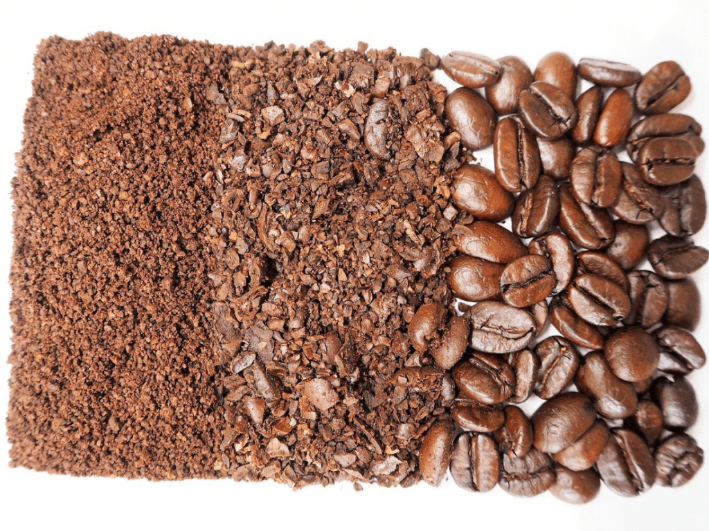coffee grind size stages